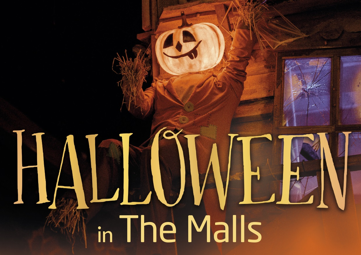 The Malls at Halloween poster